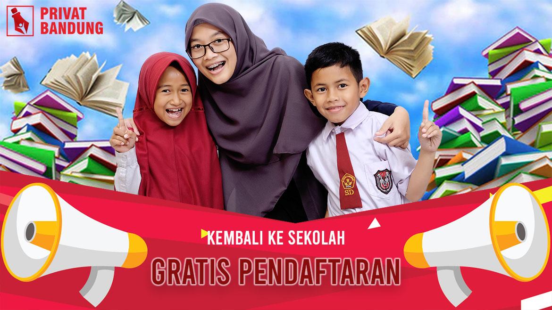 Promo Kembali ke Sekolah Untuk Siswa Baru