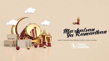 Menyambut Ramadhan 1442 H / 2021 M