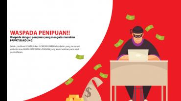Hati-Hati Penipuan Mengatasnamakan Privat Bandung